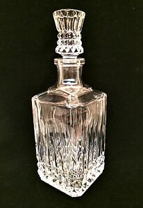 Cristal d'Arques France Decanter Genuine Lead Crystal Bar Accessory 11 inches