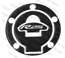 New 3D Carbon Look Gas Cap Tank Cover Pad Sticker For YAMAHA YZF-R25 2014-2016
