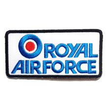 Parches - ROYAL AIRFORCE Army - azul - 9.3x4.7 termoadhesivos bordados para ropa