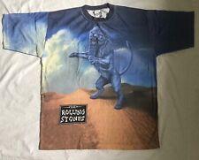 Rolling Stones Bridges To Babylon All-Over T-Shirt 1998 European Tour XL Sealed