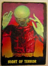 Vintage 1964 Outer Limits Topps Trading Card Bubbles Inc. #29 Night of Terror