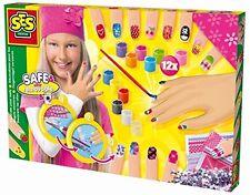 SES Spielzeug creative Fingernägel verzieren Basteln Malen Kinder-Bastelsets