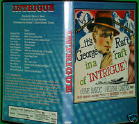 INTRIGUE - DVD - George Raft, June Havoc, Helena Carter