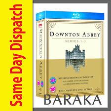 DOWNTON ABBEY SEASON SERIES 1, 2 & 3 / Christmas Special Blu Ray Box Set not DVD