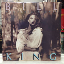 NM LP~BILL KING~Magnolia Nights~[Latin-Jazz-Fusion] [Original 1989 GAIA Issue]