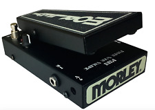 Morley Mini Power Wah Volume Effects Pedal