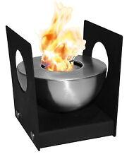 Heissner Standfeuer Tischfeuer Tobago Deko Feuer Bio Ethanol Tischkamin