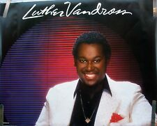 RARE LUTHER VANDROSS 1983 VINTAGE ORIGINAL MUSIC POSTER