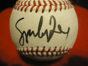 New York Yankees Sparky Lyle Autographed Champro Little League Baseball