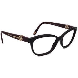 Tiffany & Co. Eyeglasses TF2127-B 8201 Red Marble/Burgundy Frame Italy 55-17 140