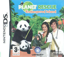 Planet Rescue: Endangered Island Nintendo DS 3+ Animal De Compagnie Virtuel Ente...