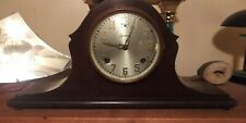 Antique Pre 1930 Sessions 8 Day Wood Chime Mantle Clock