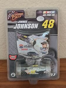 2007 #48 Jimmie Johnson Lowe's Kobalt Atlanta Win 1/64 Winner's Circle NASCAR