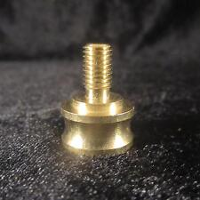LAMP FINIAL ADAPTER for old antique lamp 1/4-27 to 1/8 IPS