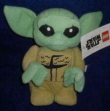 "Lego Star Wars The Mandalorian - The Child 7"" Plush Toy (Baby Yoda) - New"