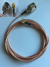 Type N Male to SMA Male RG316 Coaxial Cable 2M SDRplay RSP1/2/3 Hack RF RTL SDR