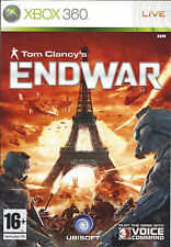 TOM CLANCY'S ENDWAR for Xbox 360 - with box & manual - PAL