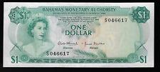 BAHAMAS 1 Dollar Banknote,  AU/UNC  Pic# 27a, 1968