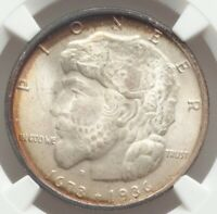 1936 50c Elgin Commemorative Silver Half Dollar NGC MS67, LUSTROUS GEM
