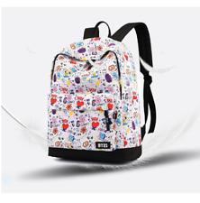 c9893fe890645 Neu BT21 Cartoon-Muster Rucksack BTS Männer und Frauen Rucksack Tasche