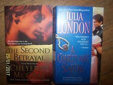 Lot 2 Romance Soft Books By Cheyenne McCray & Julia London in Great Shape