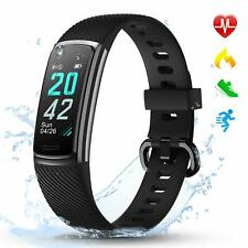 LETSCOM Fitness Trackers with Heart Rate Monitor Waterproof, Calorie Counter