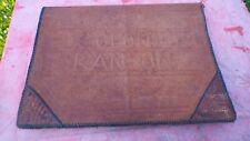 porte- document en cuir Afrique du Nord Colonel Ranson vintage guerre d'Algérie