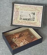 AYE WON series S.M.Mc.Ewan & Son Wooden Jigsaw Picture Puzzle Antique