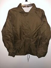 Men's Vintage Security Brown Yellow Light Jacket Size Medium MADE IN USA