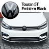 VW Touran 2 5T Front Emblem Schwarz Black Vorne Zeichen Logo R-Line ACC TSI
