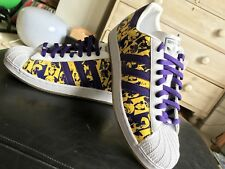 ADIDAS SUPERSTAR 35th ANNIVERSARY Andy Warhol's TRAINERS SIZE 10.5 UK RARE NEW