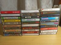 Collection of audio cassettes from the USSR. 30 pieces №33
