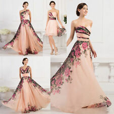 Unbranded Chiffon Formal Floral Clothing for Women