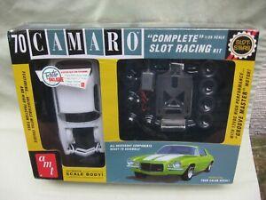 AMT '70 CAMARO 1/25 Slot Car Model / Complete Slot Racing Kit / NEW OLD STOCK