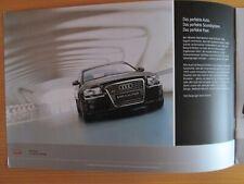 Audi A8 Sound System Bang & Olufsen Prospekt, brochure, cataloque, 2005