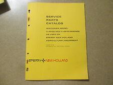 Wisconsin New Holland V460 D V461 D V 460 461 D engine motor parts manual