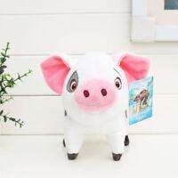 "New Studio Disney Moana Wailea Cute Pig PUA Plush Doll Soft Toy 8"" Kid's Gift"