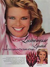 1985  CHRISTIE BRINKLEY  for  COVER GIRL   : Lipstick  Magazine  PRINT  AD
