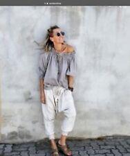 andandrea Gypsy Top  ( Lagenlook) Size S/m. Bnwot