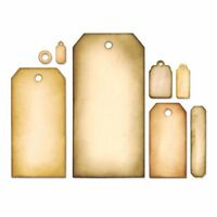 Sizzix Tag Collection Framelits Die Set 658784