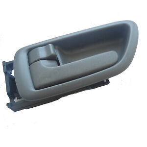 For Toyota Sequoia Tundra Inside Front Rear Left Driver Gray Door Handle 01-07