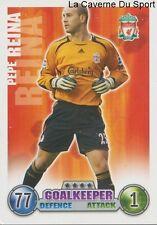 PEPE REINA  # ESPANA LIVERPOOL.FC CARD PREMIER LEAGUE 2008 TOPPS