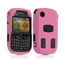 Housse étui coque pour Blackberry Curve 8520 couleur rose + Film de protection