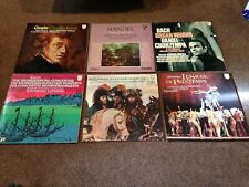PHILIPS VINTAGE CLASSICAL LPS X 7 1970 AMAZING VERY NR MINT STRAVINSKY BACH ETC