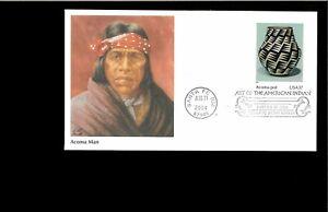 2004 FDC American Indian Art Santa Fe NM