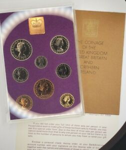 1970 Coinage of Great Britain and Northern Ireland - 8 coin - Proof Set