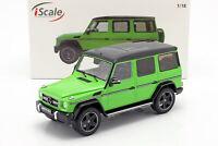 Mercedes-Benz G-Klasse G63 AMG Crazy Colors alien grün 1:18 iScale