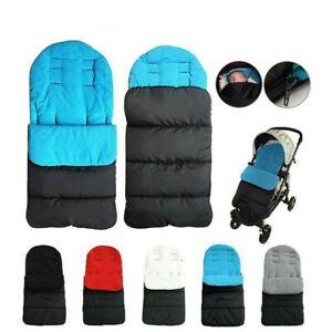 Coprigambe sacco invernale caldi imbottito a fleece universale per passeggino