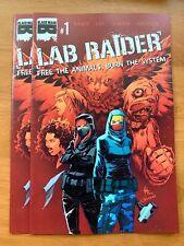LAB RAIDER #1 Creees Lee Main Cover A 1st Print  Black Mask 2019 NM+