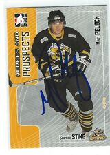 Matt Pelech Signed 2005/06 Heroes and Prospects Card #133